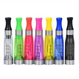 Wholesale Ego Clearomiser - E Cig Ce4 Atomiser Ego CE4 Atomizer Clearomizer Ce4 Clearomiser With Long Wick 1.6ml Suit For All Ego-t Ego E cigarettes