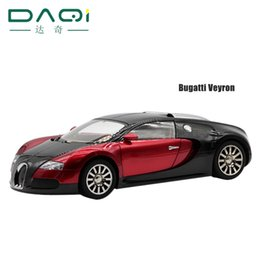 Wholesale Music Radio Car Toy - Wholesale- New hot 1:18 scale alloy die-casting models Bugatti Veyron kids toys car Wireless Bluetooth speaker gift Music Player TF and FM