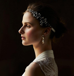 Wholesale Bridal Accessories Suppliers - Crystal Tiaras Headbands Handmade Bridal Hair Accessories Rhinestone Vintage Wedding Accessories Crowns 2016 Jewelry Suppliers