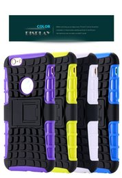 Wholesale Heavy Bag Cover - 2 In 1 Style Rugged Hard TPU + PC Hybrid Stand Phone Case For iPhone 6s 6sp inch Slim Heavy Duty Armor Back Cover Bag For iPhone6s 6sp se