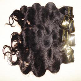 Grade 7A 100% transformés péruvien de cheveux humains 5pcs / lot couleur naturelle faisceaux de cheveux vague de corps rapide shippng gratuit prix le moins cher ? partir de fabricateur