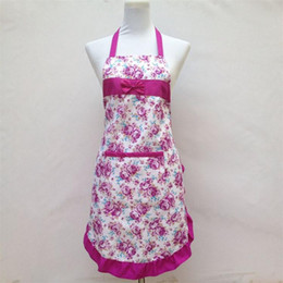 Wholesale Cook Clothing - Apron Aprons with Front Pocket Bib Kitchen Cooking Craft Chef Baking Art Adult Teenage College Clothing