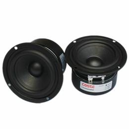 Wholesale Full Audio System - Freeshipping 2pcs HIFI Speaker Full Range Bass Subwoofer Tweeter Adapted New 3 Inch 15 W DIY Home Theater Loudspeaker system Audio Speakers