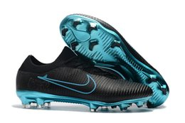 Wholesale Cheap Soccer Cleats Shoes - Football Boots Mercurial Vapor Ultra FG New Soccer Shoes High Top Mens Soccer Cleats Cristiano Ronaldo 2017 Cheap Superflys