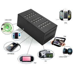 Wholesale Universal Tablet Charging Station - 48 50 60 96 Ports Industrial USB Charger Device Fast Charging Station USB Desktop Charger for Smartphones Tablets and Other Devices