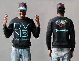 Wholesale Diamond Dmnd - Women men Sweatshirts Diamond Supply Co. DMND crewneck HBA sportswear