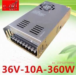 Wholesale Switching Power Supplies 36v - DHL EMS 360W 36V 10A Power supplies Switching Power Supply Driver For LED Strip light Display AC110V-240V Input 36V Output News