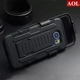 Wholesale Hard Holster - For Samsung Galaxy S6 G9200 S6 edge  plus Future Armor Impact Hybrid Hard Case + Belt Clip Holster Kickstand Combo Rugged Shockproof