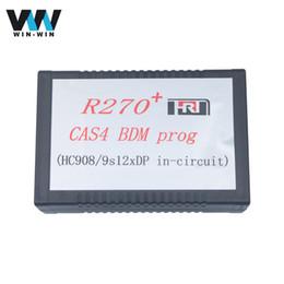 Wholesale Auto Mileage - Wholesale-R270+ V1.20 Auto CAS4 BDM Programmer R270 Programmer R270 CAS4 BDM Programmer Mileage Programmer Tool