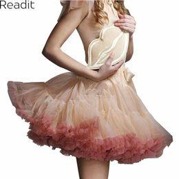Wholesale Mini Jupe - Wholesale- Sexy Micro Skater Mini Skirts Tulle Skirt Party Dance Tutu Skirt Women Lolita Petticoat Womens Faldas Saia jupe courte S1791
