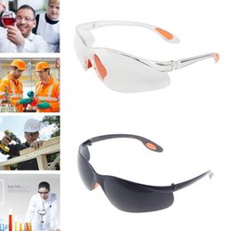 e2861cebe51a1f Protection du lieu de travail Protection des yeux Lunettes de protection  transparentes Vent et poussière Anti-buée Laboratoire Usage médical Sécurité  YYA602