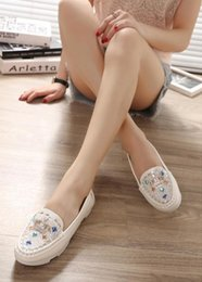 Wholesale Wedding Dresses 88 - The new 2016 shoes female flat shoes round head 88