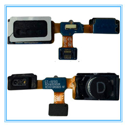 Wholesale Wholes Speakers - 10pcs lot New Replacement Earpiece Speaker Sound Receiver Flex Cable for Samsung Galaxy S4 Mini GT-i9190 i9195 Whole Sale Free Shipping