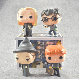 Wholesale Harry Good - Funko Pop Harry Potter character Fred Lucius Minerva 10 cm figurine collection Toy horses