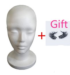 Wholesale Female Mannequin Head Display - Female Styrofoam Mannequin Manikin Head Model Foam Wig Hair Hat Glasses Display