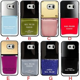 Wholesale Galaxy S4 Perfect - Attractive Greatest Perfect Wonderful Hot Nail Polish Cell Phone Case for Samsung galaxy S3 S4 S5 S6 samsung Note 2 note3 note4 5 Phone Case