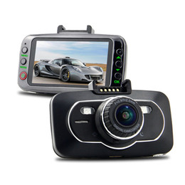 Wholesale Night Vision System Ship - FULL HD 1080P  30 fps G-sensor super night vision 10X digital zoom H.264 car camera system, free shipping car dvr