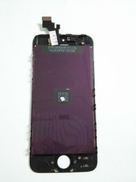 Tela do iphone 5s do oem on-line-Alta qualidade 5S lcd Nenhum pixel morto Made in China OEM Qualidade Display LCD Touch Screen Assembléia Digitador Para iPhone 5S