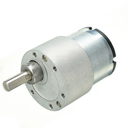 Wholesale High Torque Gear - DC 24V 330rpm Gear Reducer Motor High Torque Gear Box Motor