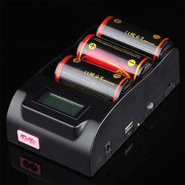 Wholesale Digital Portable Charger - New TrustFire TR-008 Digital LCD Display Charger 1.2v 3.0V 4.2V 18650 26650 32650 3.7v Li-ion Battery Charger USB discharge