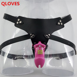 Wholesale Strap Device For Sex - Strap on Male Chastity Device strapon cock cage penis sleeve sex products for men dick cage bdsm bondage Alternative toys fetish