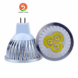 Wholesale Low Mr16 Led - lowest CREE 3*1W 3W replace 9W Led Spot Bulbs Light E27 E14 MR16 GU10 Led non-Dimmable Lights Lamp Warm Natrual Cold White AC110-240V