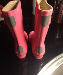 Wholesale Rain Kids Boot Shoes - High Quality H Original brand children child rainboot kids rubber rain boot waterproof wellies water shoes boots short rainboots