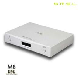 Wholesale Asynchronous Usb Dac - SMSL M8 DAC ES9018 HIFI Audio OPTIC Coaxial XMOS USB Asynchronous 384KHZ 24Bit DSD Digital Decoder Amplifier Aluminum Enclosure asynchron