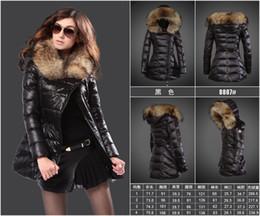 Wholesale Womens Black Velvet Jacket - Monclearing Extra long Goose Down Coat Thick Womens Parka Black Jacket Winter European Style Large Size Warm Women Basic Coats