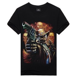 Wholesale Cool Long Shorts - men Cool Style THE PUNISHER T Shirt The Punisher Black Short Sleeve T-shirt male Clothing Top Tees For Summer tx28