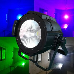 Wholesale Auto Watts - Free shipping Professional Stage Lighting 100W COB LED Pan Can  led Par64 DMX 100 Watt COB Par LED Stage Light Warm Yellow