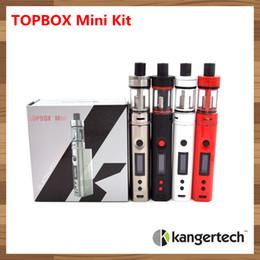 Wholesale Pros Kit - 200% Authentic Original Kangertech Topbox mini kit Kanger Subox Mini Pro TC KBox 75w starter kit temp Control Box Sub Mods Toptank Mini