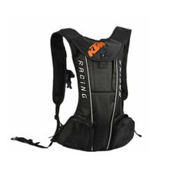 China KTM Motorcycle Backpack Moto bag Waterproof shoulders reflective  Water bag motocross racing package Travel bags 5a44817b6289f
