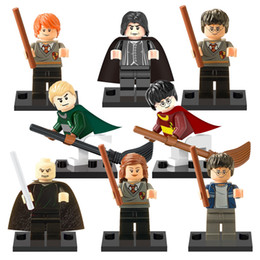 Wholesale 2017 new Harry Potter Building Blocks Hermione Granger Fantasy Literature Novels kids Gift Toys for children bricks X0121