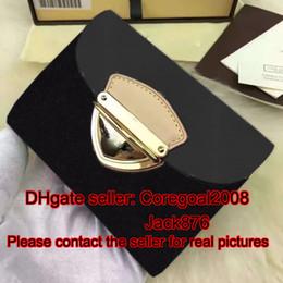 Wholesale France Business - ORIGINAL quality Koala WALLET L M58087 M58081 M58082 france designer small pouch Genuine Leather short purse cards holder Trifold