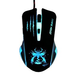 Wholesale Pcs Cs - New Arrival Optical USB LED Lights Computer PC Game Gamer Gaming Mouse Mice Mause For Dota 2 CS Air Steelseries Games Car Laptop