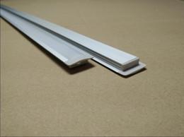 Wholesale Profile Extrusions - Free Shipping Hot Sale 1000mmX25mmX7mm led extrusion aluminum profile for 2835 5050 5630 flexible strip 1m pcs 20pcs lot