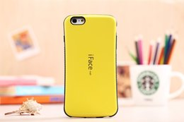 Wholesale Iface Note2 - For iphone 6 6S 4.7   Plus 5.5 inch Luxury Iface Hybrid PC +TPU Hard Back Case Cover For samsung S3 S4 S5mini NOTE2 NOTE3 NOTE4 NOTE5 S3MINI