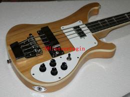 Oem baixo da guitarra baixa on-line-Personalizado 4003 Baixo one piece neck 4 cordas Bass Guitar Natural Elétrica Baixo New Arrival China guitarra Atacado OEM Frete Grátis