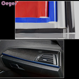 Wholesale Ford Change - 10cm Auto 5D Car DIY Stickers Carbon Fiber Vinyl Film For Bmw Audi Alfa Honda Mazda Ford VW Car Styling Accessories