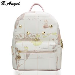 Shop map print backpack uk map print backpack free delivery to high quality world map backpack fashion women backpack special school backpack travel backpack casual printing backpack hc w 29110 gumiabroncs Images