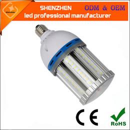 Wholesale E27 Blue - High lumen LED Corn Light Bulb 12W 27W 36W 45W 54W 80W 100W 120W E26 E27 E39 E40 Garden Warehouse parking lot lighting