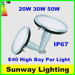 Wholesale E27 Bulbs Long - Super Bright E27 E39 E40 LED Bulbs 20W 30W 50W LED Par Light Long Neck Warehouse shop supermarket High Bay lighting lamps ac85-265v