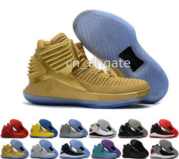 Wholesale High Speed Threading - 2017 New Retro 32 Flights Speed Men's Basketball Shoes for High quality Air Retros XXXII 32s Hornets Black Crack Sports Sneakers Size 7-12