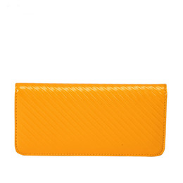 Wholesale American Fashion Online - Long Leather Best Wallets For Women Brand Luxury Purse Card Holders Hot Online Best Christmas Gifts