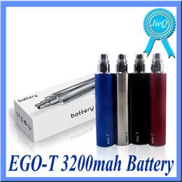 Argentina Ego t batería 3200 mah batería apta EGO 510 rda atomizadores cigarrillo electrónico aerotank NAUTILUS GIANT vs EVOD TWIST Nego spinner A Suministro