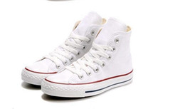 Los mejores zapatos casuales para las mujeres online-Drop Shipping Brand New 15 colores Tamaño 35-46 High Top Sports Stars Low Top Top Top Classic Lienzo Zapatillas Zapatillas de Zapatillas Casuales para Mujeres