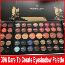 Wholesale Newest Christmas - Newest HOLIDAY DARE TO CREATE 39A Eyeshadow Palette 39 Colors Christmas Eye shadow Powder Palette DHL Shipping