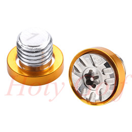 Wholesale Golf Free Shipping Fairway Wood - Free Shipping New 1 pcs Gold Ring Golf Weights Screw For RBZ 2 Fairway Wood 1-10g or Set