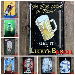 Wholesale Vodka Signs - lastest 20*30cm beer vincenzo vodka peppar Tin Sign Coffee Shop Bar Restaurant Wall Art decoration Bar Metal Paintings